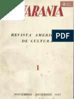 Revista Guaranía N° 1 de J. Natalacio González 1947