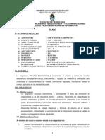 Silabo Circuitos Electronicos I- Moreno