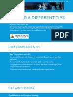 SIR RFS Case Series
