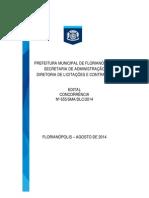 Edital Para Taxi (Fpolis) 2014