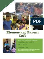 Parent Cafe 12:12 Invite