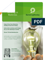 MarketingMonday Masterclass Marketing 2.0
