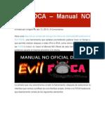 Manual No Oficial de Evil FOCA