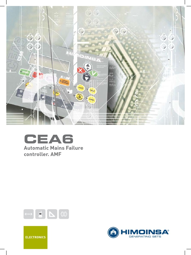 Automatic Mains Failure Controller Cea6 Ing Pdf