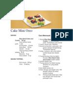 Cake Mini Oreo