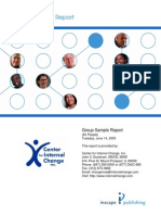 Disc Facilitator Report