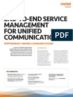 9172 End to End Service Management Unified Communications