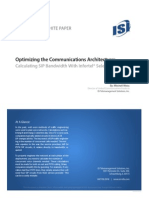9891 Optimizing Communications Architecture Calculating Sip Bandwidth With Infortel