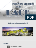 Passwords13 Smarter Password Cracking With Pack