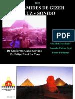 Las Piramides - Luz  y Sonido - Antiguo Egipto