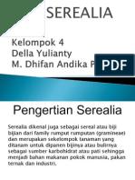 4. Serealia