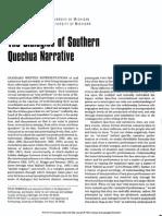 Mannheim Van Vleet Dialogics Quechua
