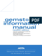 AGTA Gemstone Information Manual 2012