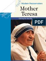 Personalities- Mother Teresa -Modern Peace Makers
