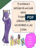 Invitación Para La Charla