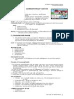 Community Health Nursing p.31-55