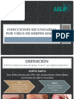 Infecciones Secundarias Por Virus de Herpes Simple