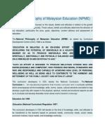 National Philosophy of Malaysian Education