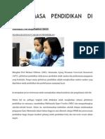 Isu Semasa Pendidikan Di Malaysia