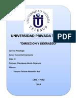 Monografia - Direccion y Liderazgo