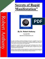 Dr Robert Anthony Pdf