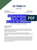 Taz Times 4 Final