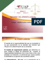 Reforma del Aparato Judicial