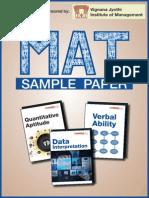 MAT Sample Paper