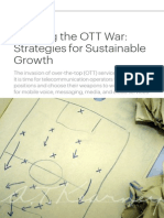 Winning the OTT War -Strategies for Sustainable Growth