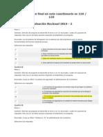 EVALUacievaluación final de administración de inventarios