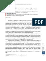 Racionalidad Absoluta e Instrumental en Adorno y Horkeimer.