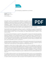 Fernando Ruiz Rey, Notas Sobre Epistemología. Anarquía y Relativismo en La Ciencia.