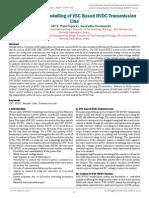 Simulation and Modelling of VSC Based HVDC Transmission