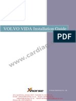 Volvo Vida Installation Guide English