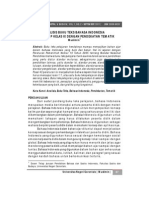 Analisis Buku Teks Bahasa Indonesia Untuk Smp Kelas Ix Dengan Pendekatan Tematik