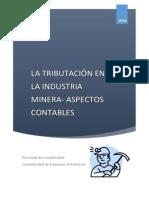 REGIMEN TRIBUTARIO DE LA ACTIVIDAD MINERA