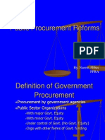 Presentation on P P Reforms (Others)