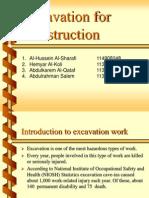 Excavation Study Case