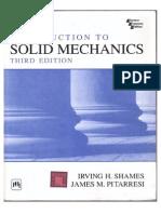 Introduction o Solid Mechanics