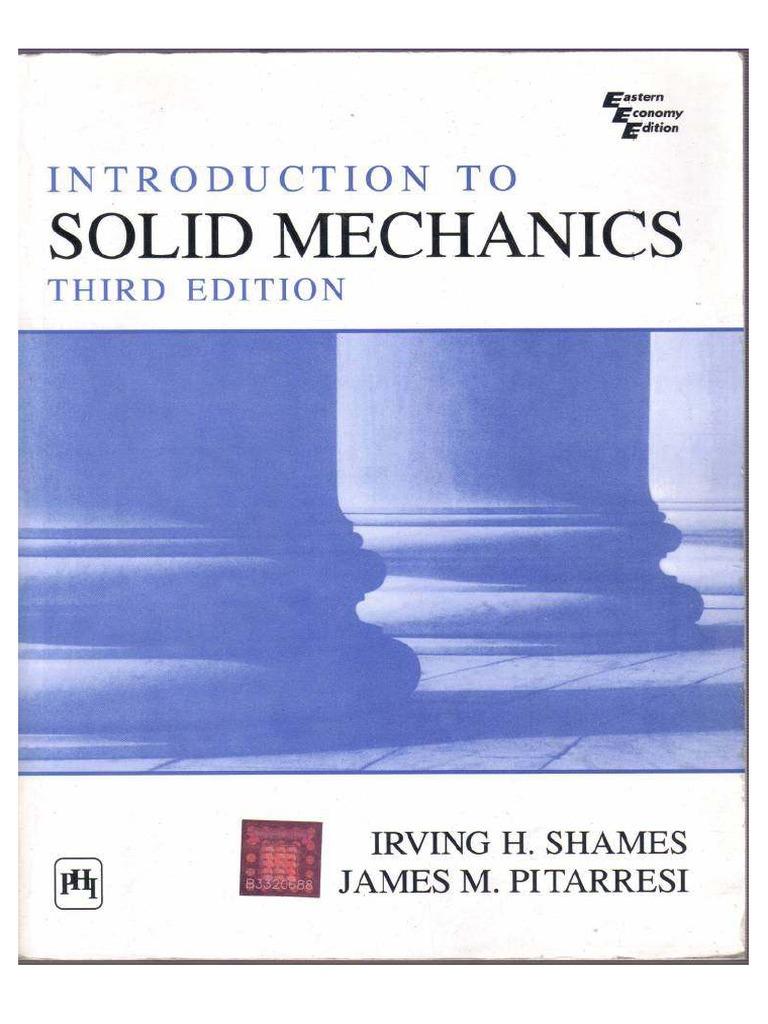 Solid Mechanics Books Pdf