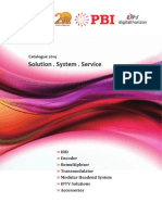PBI DTV Headend Catalog 2013 and 2014-En-20140227