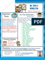 week 17 newsletter