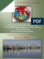 Michael Geller Christmas 2014 Holiday Greeting