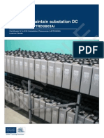 Substation DC systems