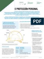 Casco de proteccion personal