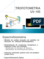 Espectrofotometria Uv Vis