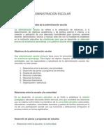 Guía de Administración Escolar
