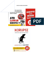 Contoh Spanduk Dan Banner Anti Korupsi
