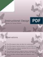 instructional design presentation
