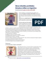 Los libros infantiles prohibidos por la dictadura militar en Argentina